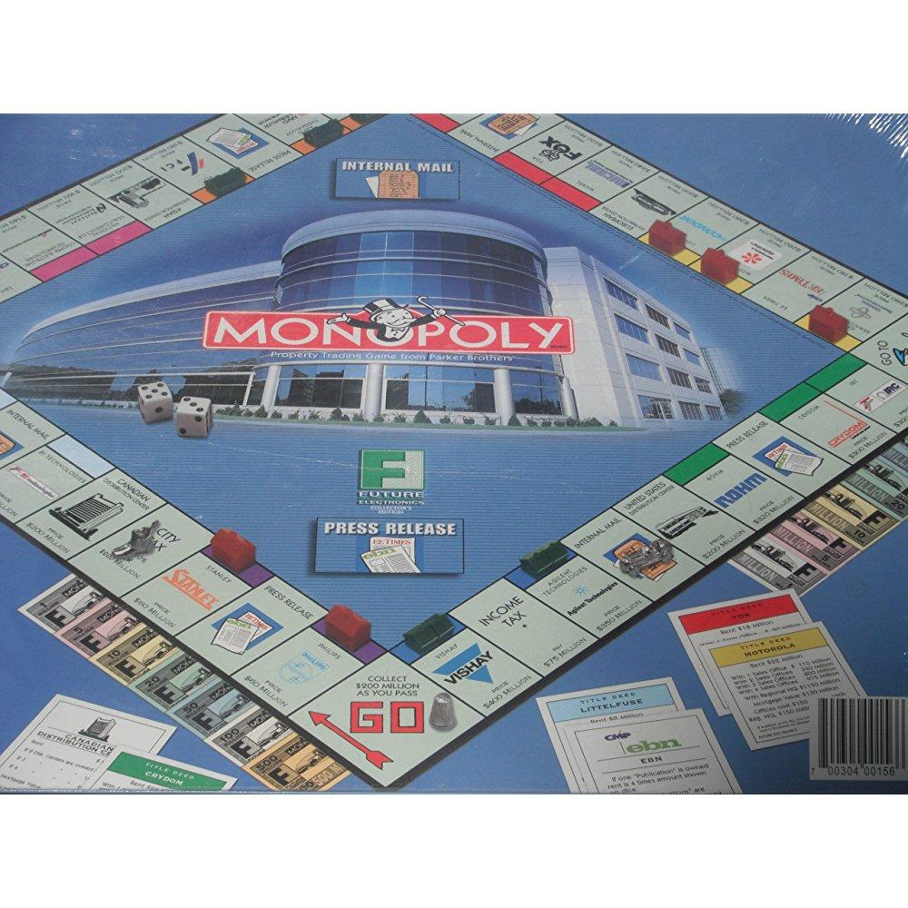 MONOPOLY: FUTURE ELECTRONICS COLLECTOR'S EDITION