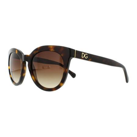 DOLCE & GABBANA Sunglasses DG4249 502/13 Havana (Dolce And Gabbana Sunglasses)