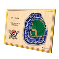 Pittsburgh Pirates 14'' x 10.5'' 3D StadiumViews Desktop Display