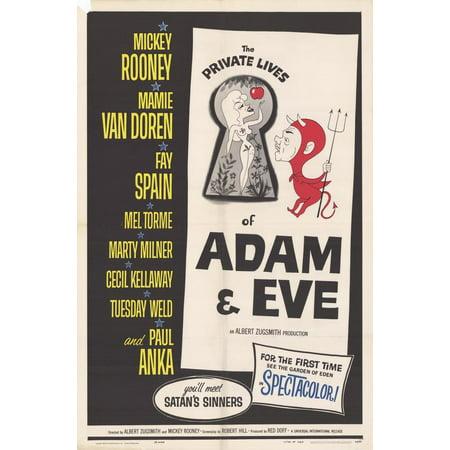 The Private Lives of Adam & Eve POSTER Movie Mini Promo