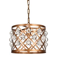 "Elegant Lighting LD6003D13 Camden 13"" Pendant"