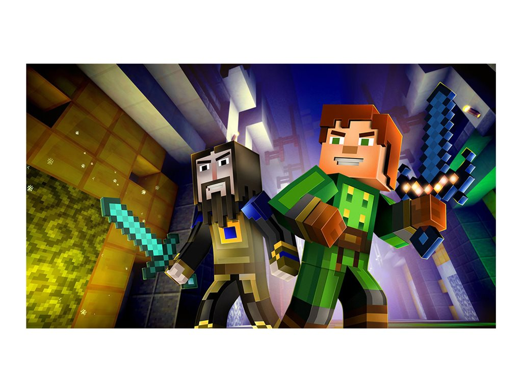 Minecraft Story Mode The Complete Adventure Xbox 360 by TELLTALE GAMES