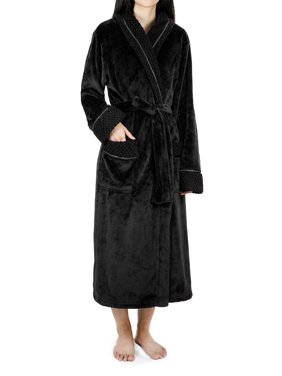 Product Image Deluxe Women Fleece Robe with Satin Trim  a94456e74