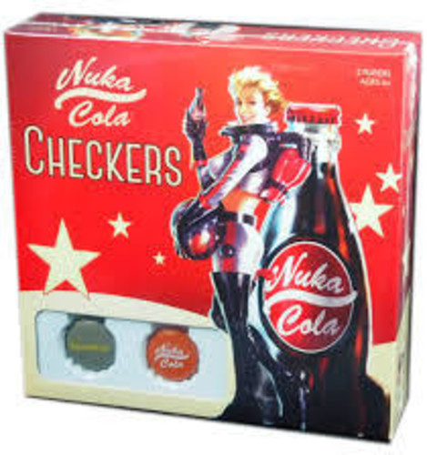 Checkers: Fallout Nuka-Cola by USAopoly