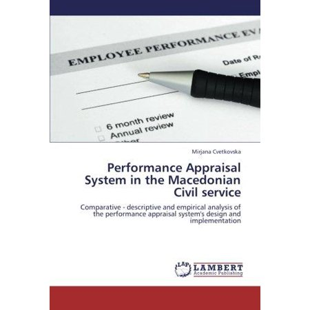 Performance Appraisal System In The Macedonian Civil Service
