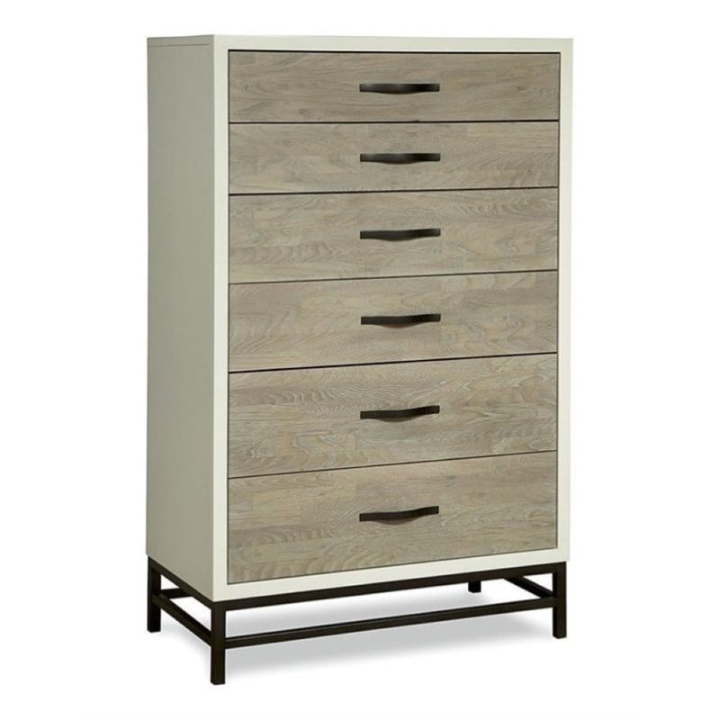 Beaumont Lane Chest in Gray Parchment