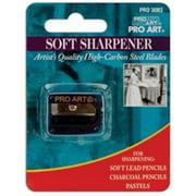 Pro Art Pencil Sharpener Soft Lead Carded