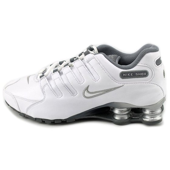 8fedde49ae6a Nike - Nike Shox NZ EU Women Round Toe Leather White Running Shoe ...