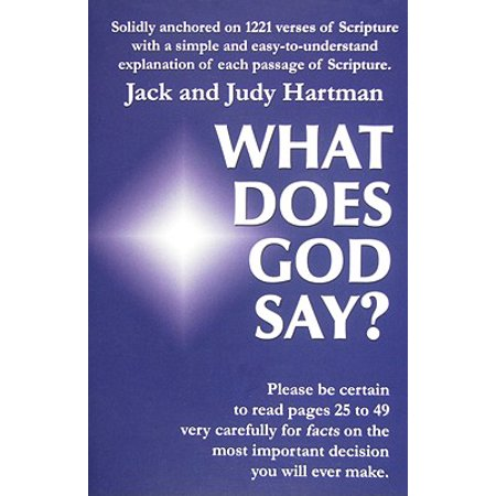 What Does God Say? Mama Says God