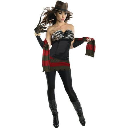 Sexy Freddy Krueger Costume (Freddy Krueger Fedora)
