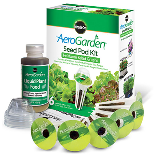 AEROGROW INTERNATIONAL INC 806604-0208 6Pod Heirloom Salad Kit