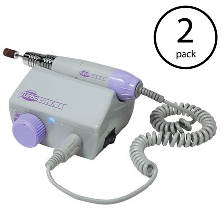 Medicool Turbo File II Professional Electric Nail Filing System (2 Pack)