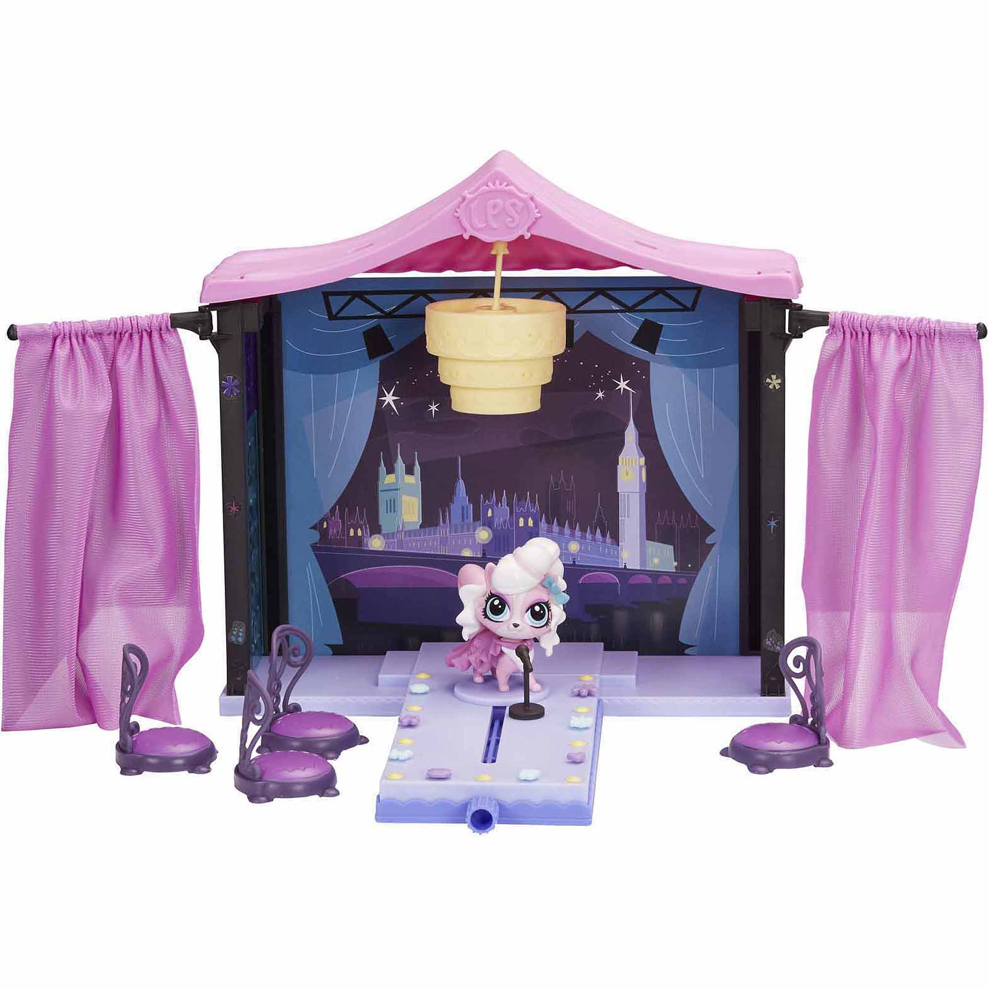 Littlest Pet Shop Let S Start The Show Style Set Walmart Com Walmart Com