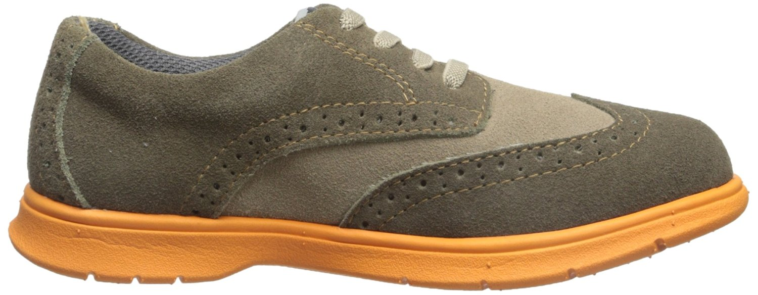Florsheim Flites Wing Jr Boys Mushroom Multi Elastic Lace Shoes by Florsheim