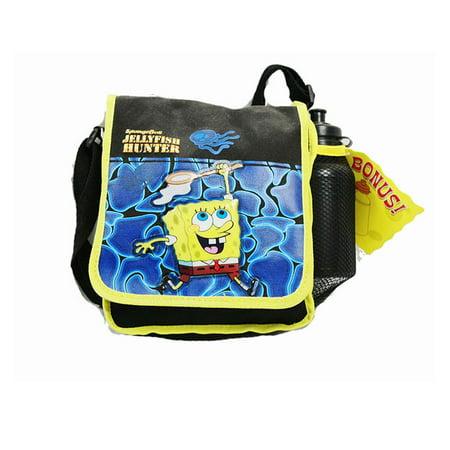 Lunch Bag - Spongebob - Jelly Fish (w/ Water Bottle) New Boys Gifts (Spongebob Lunch Bags)