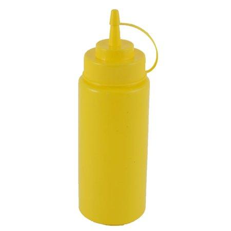 - Kitchen Plastic Sauce Oil Vinegar Jam Cream Squeeze Bottle Cruet 450ml