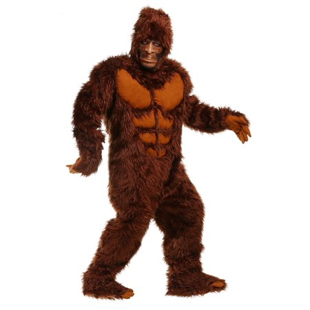 Bigfoot Plus Size Costume for Men - Cheap Bigfoot Costume