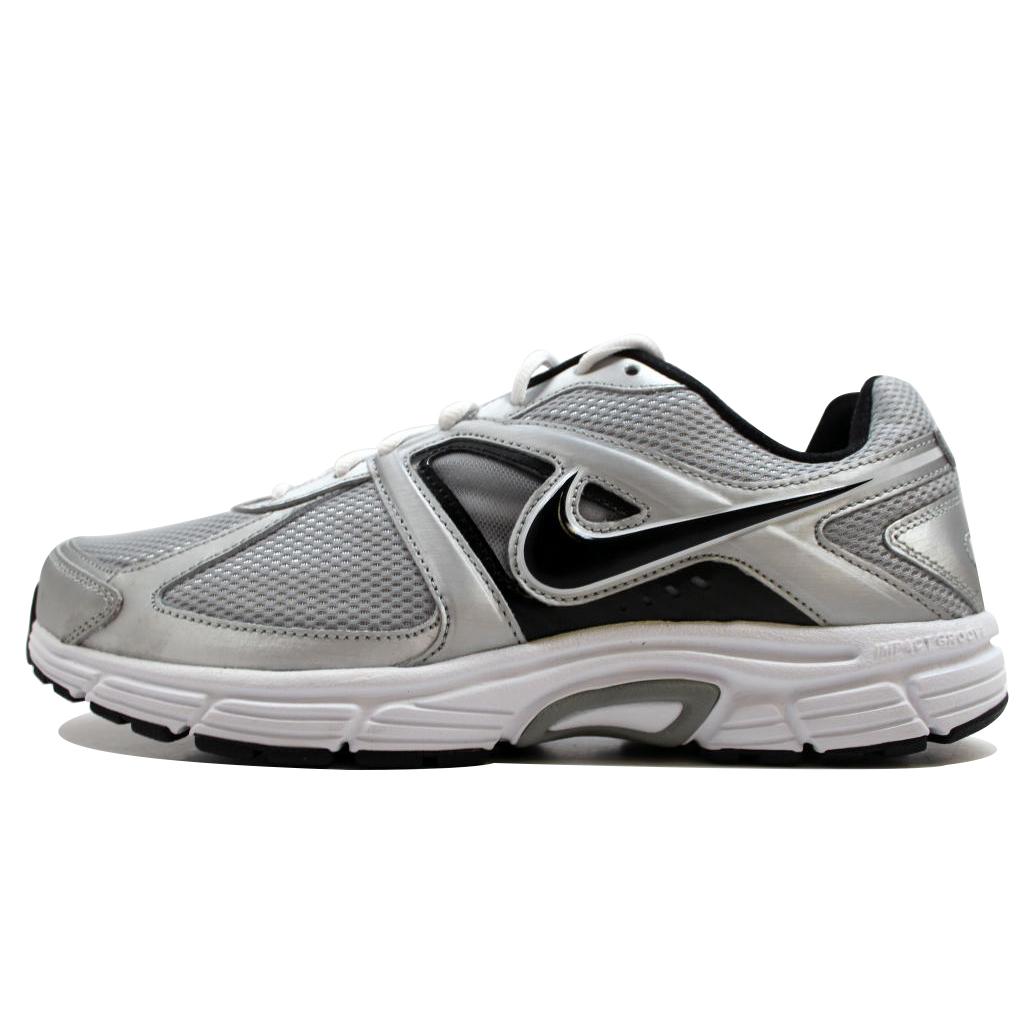 Nike Men's Dart 9 Metallic Silver/Black-White 443865-016