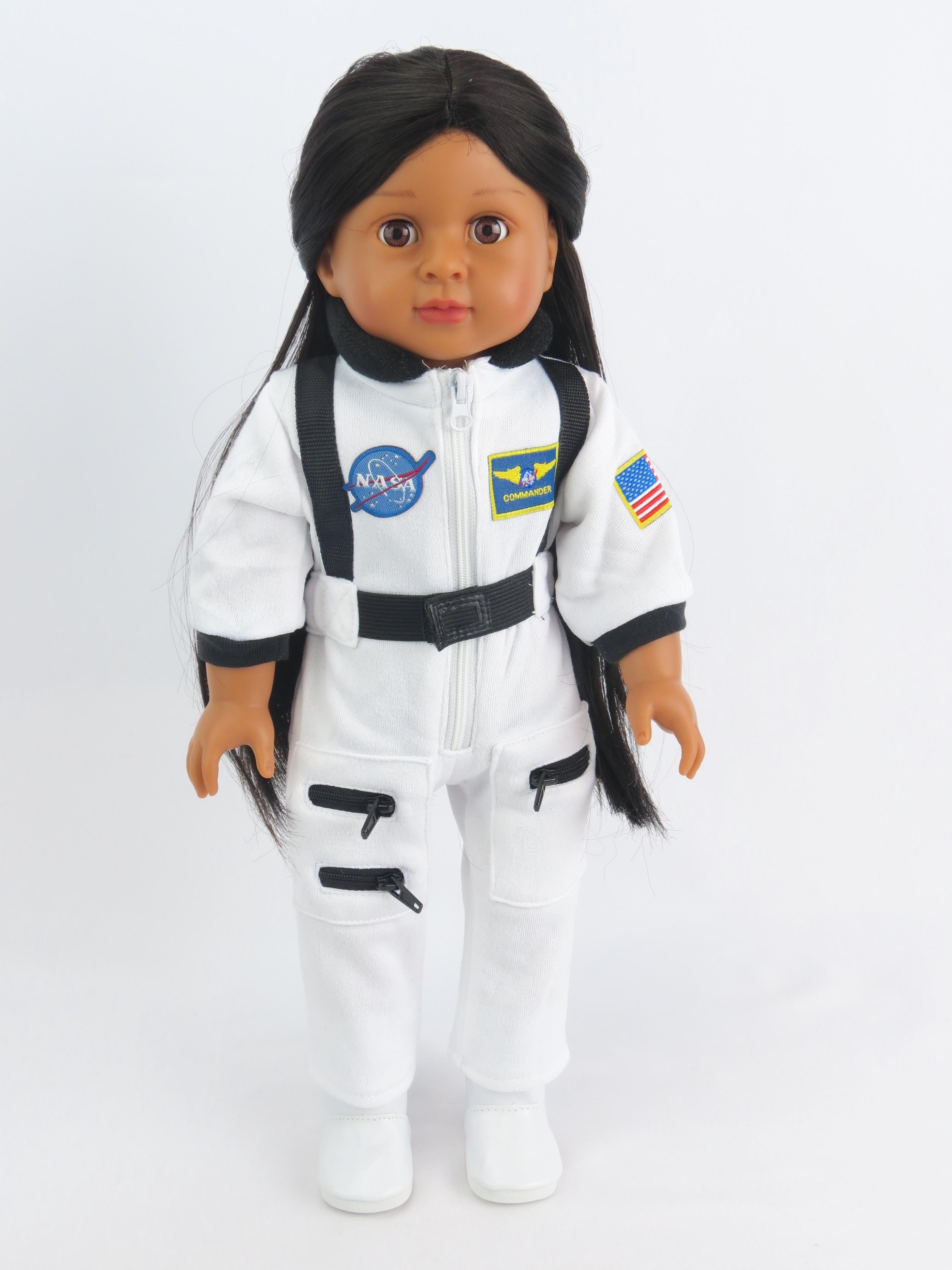 "Astronaut White Space Suit | Fits 18"" American Girl Dolls, Madame Alexander, Our... by"