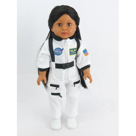 Astronaut White Space Suit | Fits 18