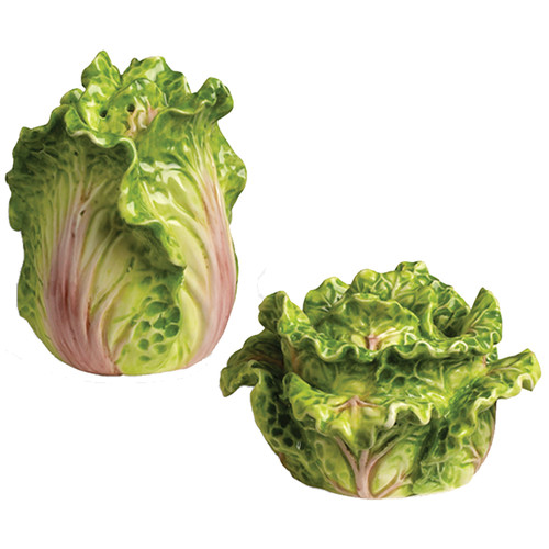 Kaldun & Bogle Tuscan Garden Cabbage Salt and Pepper Set