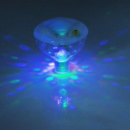 Underwater Bathtub LED Light Floating Pool Light,5 Light Modes ...