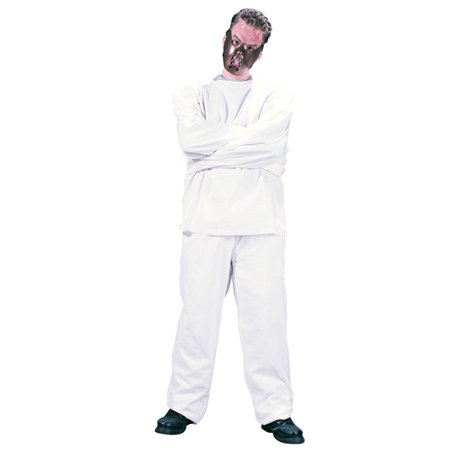 Adult Crazy Inmate Maximum Restraint Costume - Crazy Baby Costumes