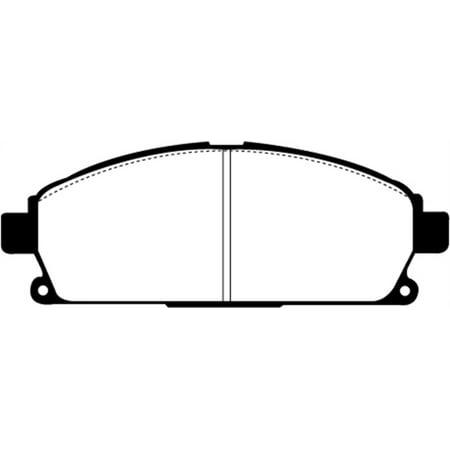 EBC 03-06 Acura MDX 3.5 Greenstuff Front Brake Pads