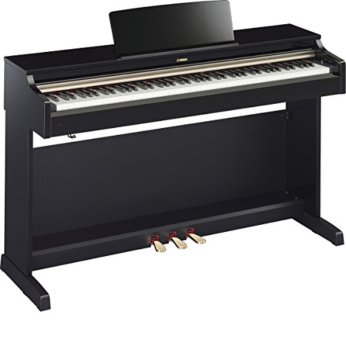 Yamaha YDP162PE | Arius 88 Key Traditional Console Home Digital Piano Polished Ebony