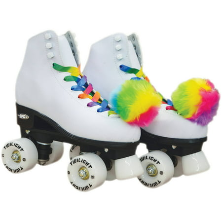 Epic Allure Light-Up Quad Roller Skates - Lighted Roller Skates