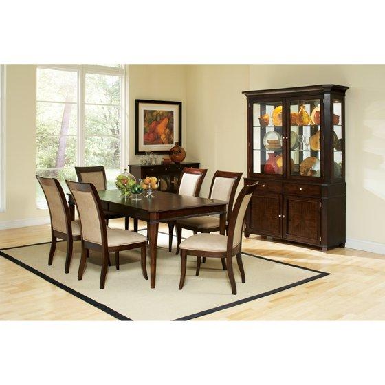 Steve Silver Harmony 7 Piece Oval Dining Room Set In: Steve Silver 7 Piece Marseille Wood Dining Table Set