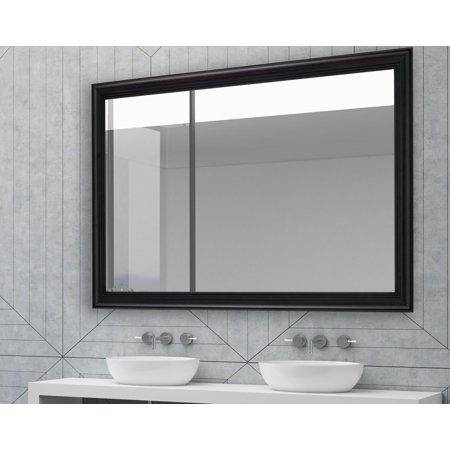 Garrett Mirror (Hitchcock Butterfield Black Garrett Wall Mirror)