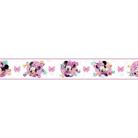 Disney Kids III Disney Minnie Mouse Border ()