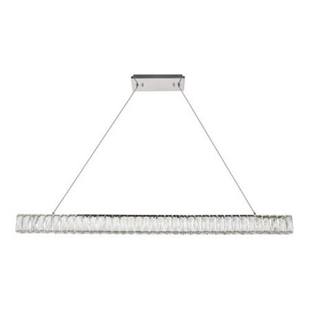 Elegant Lighting 3502D47C Monroe Integrated Led Chip Light Chrome Chandelier - image 1 de 1