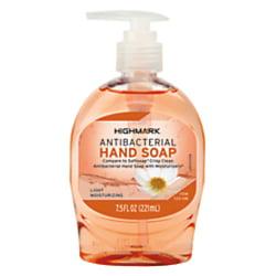 Highmark® Antibacterial Liquid Hand Soap, 7.5 Oz