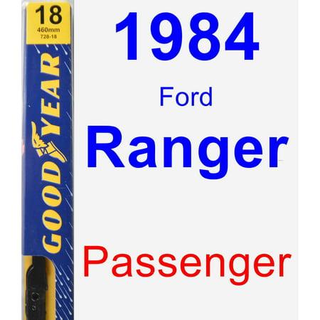 (1984 Ford Ranger Passenger Wiper Blade - Premium)