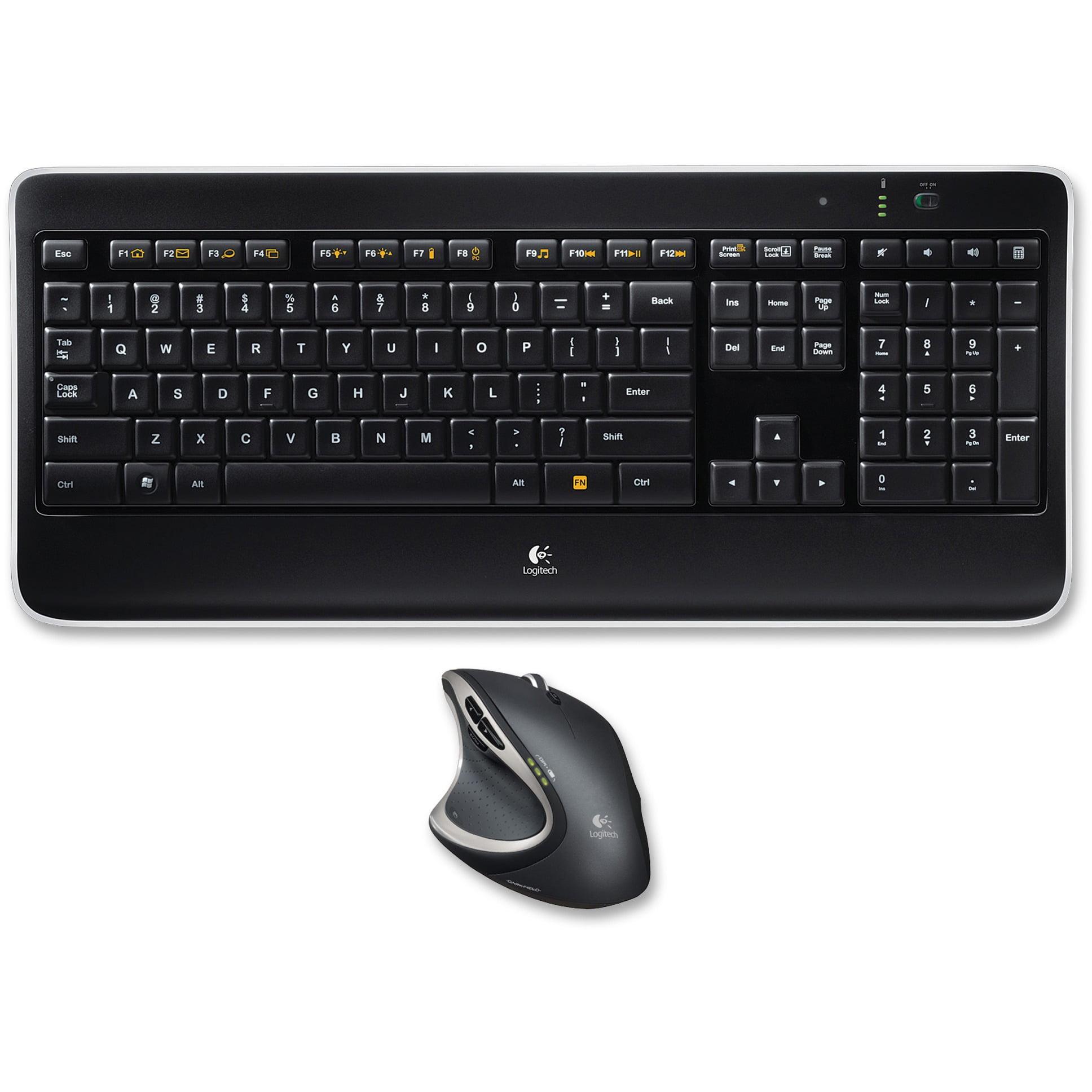 Logitech, LOG920006237, MX800 Combo Wireless Keyboard/Mouse, 1