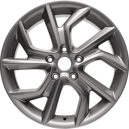 New Aluminum Alloy Wheel Rim 17 Inch Fits 2013-2015 Nissan Sentra 17x6.5 5 on 114.3 - 4.5 Inches 10