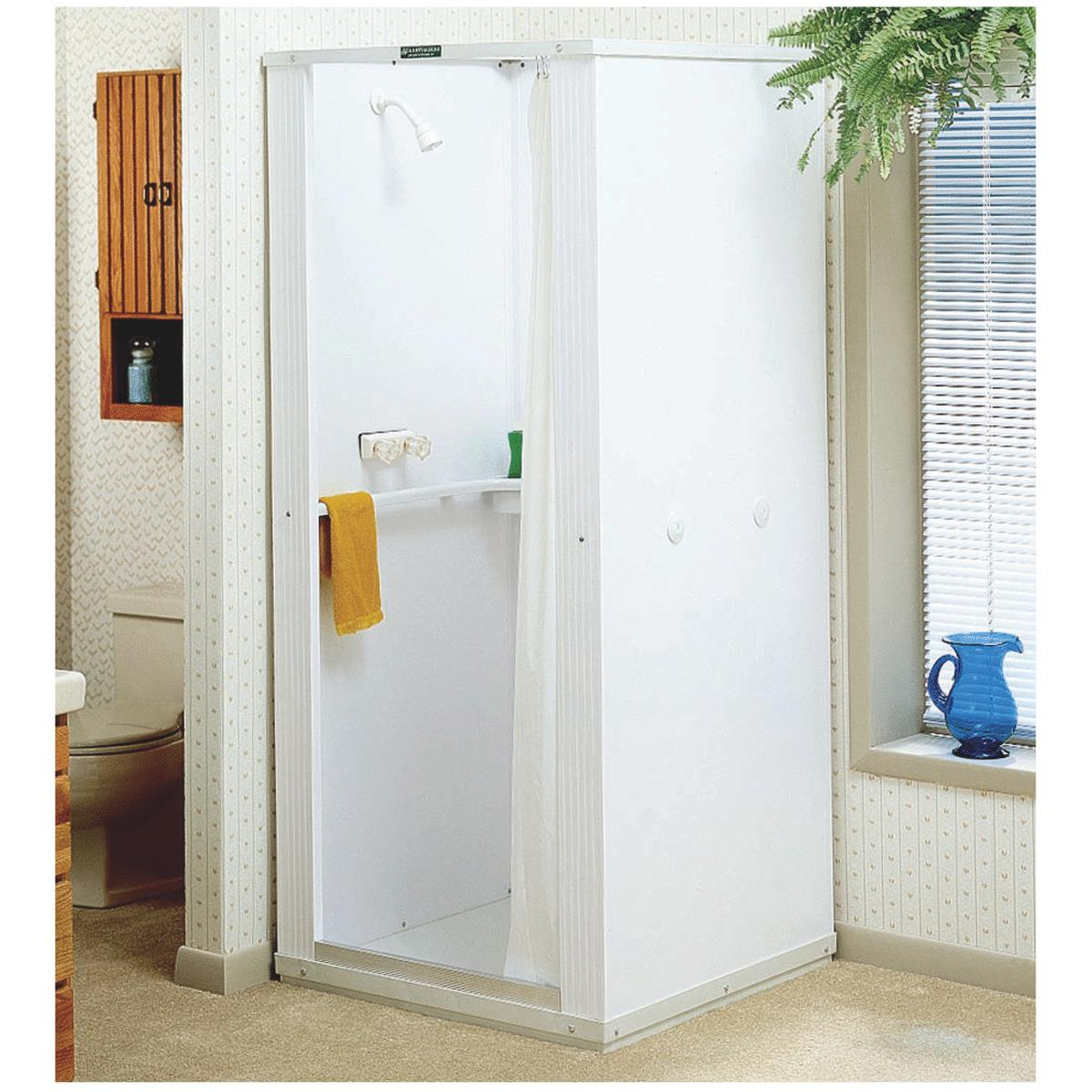 EL MUSTEE & SONS Deluxe Shower Cabinet With Standard Base