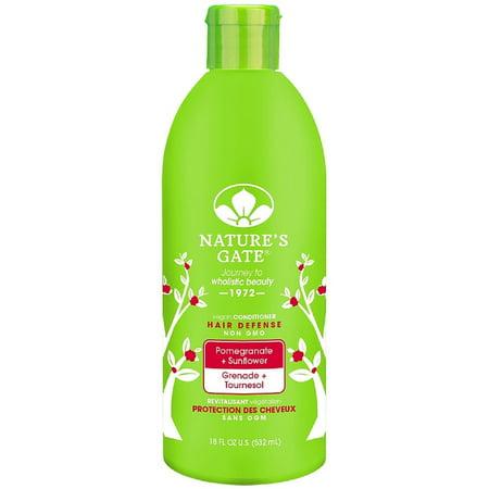 Nature's Gate Pomegranate + Sunflower Hair Defense Conditioner 18 oz