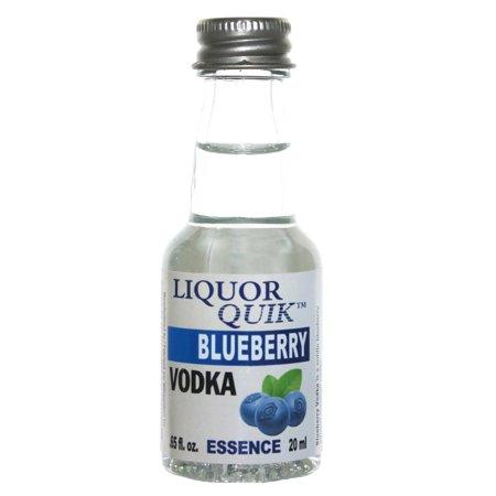 Liquor Quik Natural Vodka Essence 20 mL (Blueberry - Blueberry Infused Vodka