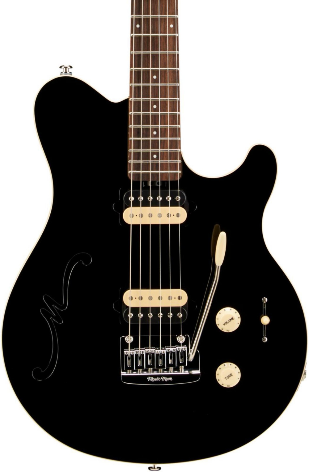 Axis Super Sport HH Hollowbody Electric Guitar with Tremolo by Ernie Ball Music Man