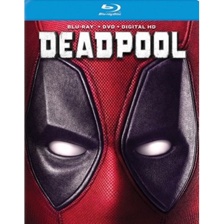 Deadpool (Blu-ray + DVD + Digital - Deadpool Movie Suit