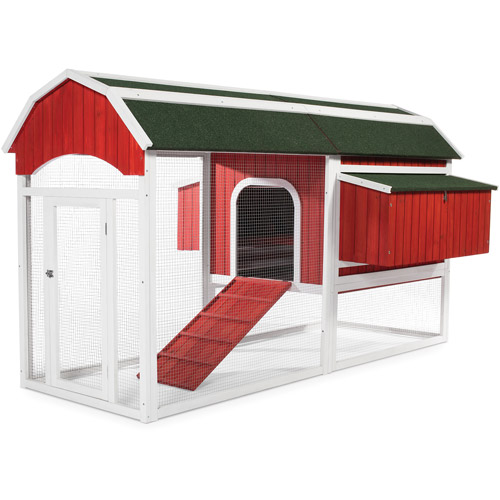 Prevue Pet Products Red Barn Chicken Coop, Large