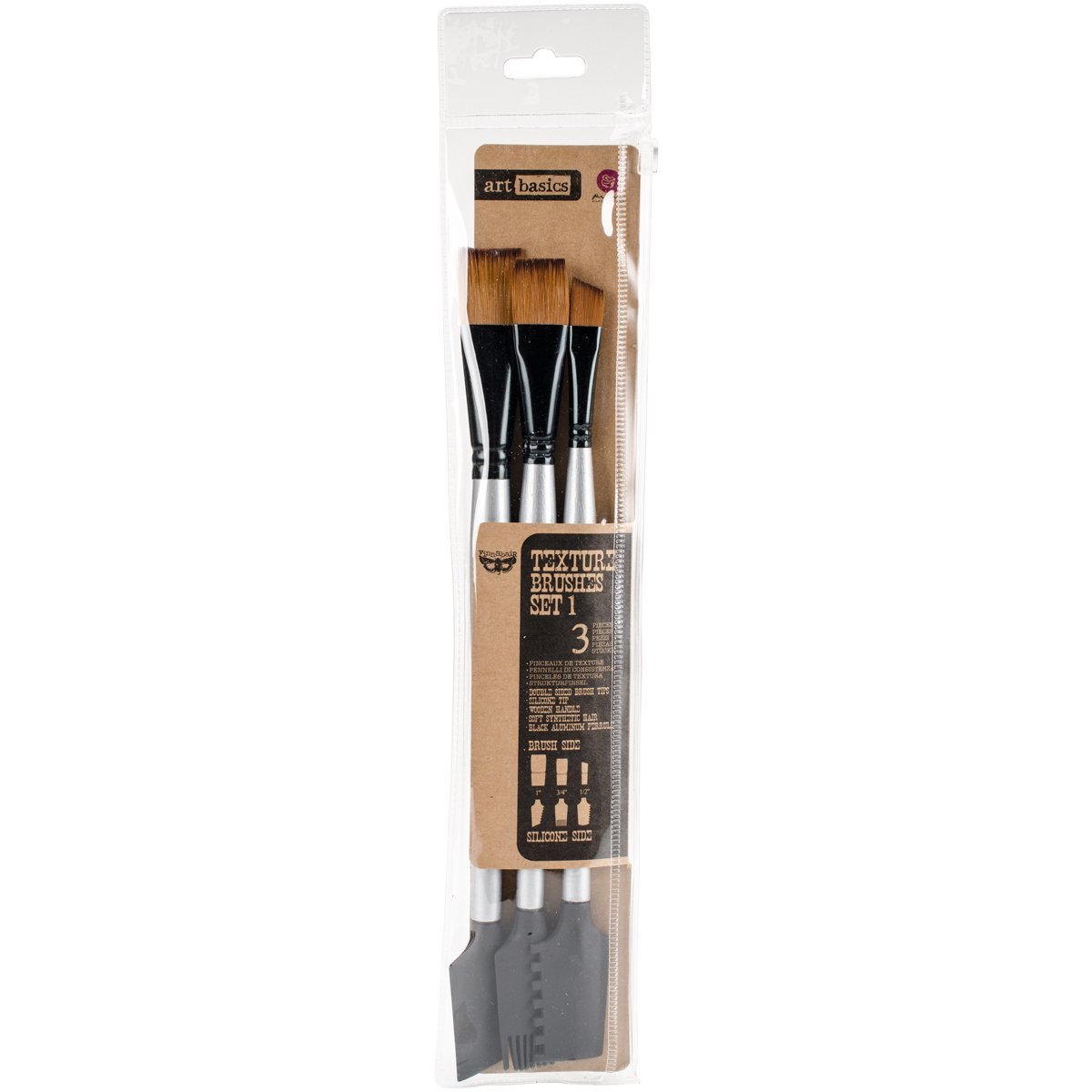 No Need To Spend A Fortune On These: 963873 Texture No.1 Finnabair Art Basics Double Ended