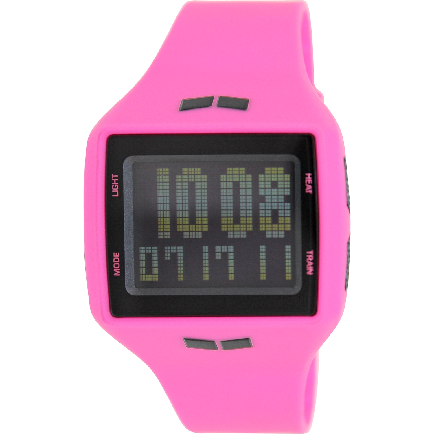 Vestal Women's Helm HLMDP07 Pink Rubber Quartz Watch
