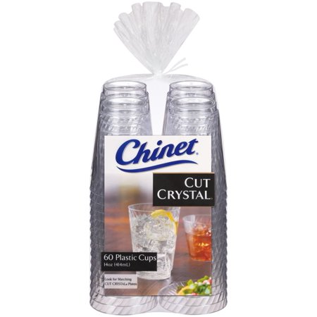Discount Cups (Product of Chinet 14-Oz. Crystal Cups, 60 ct. - Clear [Biz)