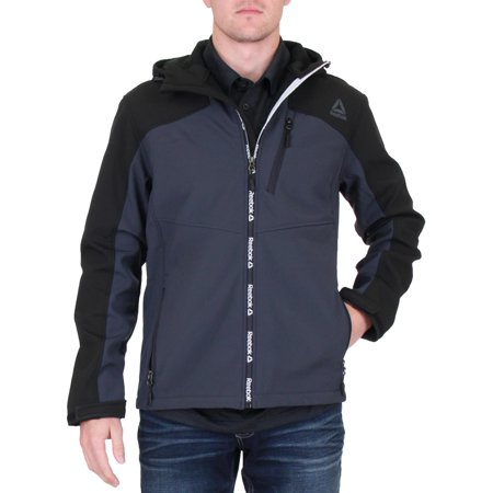 Reebok Mens Winter Softshell Soft Shell Jacket
