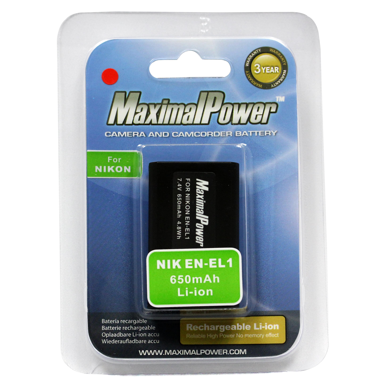 Coolpix 5700 Digital de la batería EN-EL1 para Nikon Coolpix 8700 Nikon E880