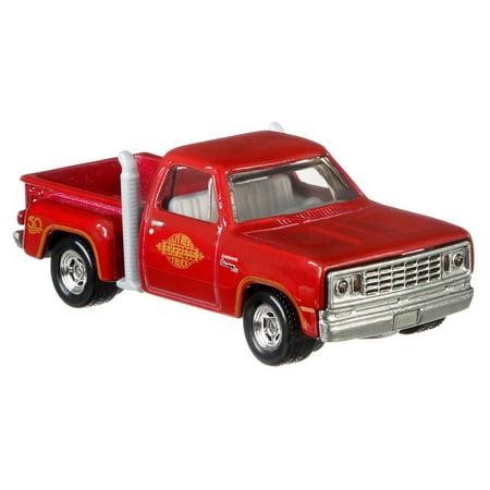 Wheel Dodge Truck (Hot Wheels Premium Collector Favorites 78 Dodge Lil Red Express Truck )